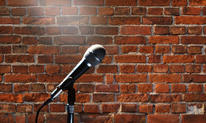 Comedy Show - Metropolitan: $25 for a Saturday-Night Comedy Show with Wine for Two at The Wormhole ($50 Value)