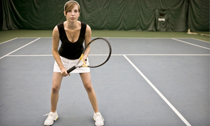Glastonbury Tennis Club - Glastonbury Center: Three 90-Minute Doubles Sessions for One or Two at Glastonbury Tennis Club (Half Off)
