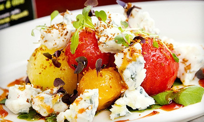 Vic & Angelo's - Multiple Locations: Italian Dinner for Two or Four with Wine at Vic & Angelo's (Up to 54% Off)