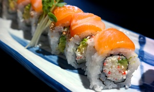 Wasabi Sushi Bar Fairview Heights: $18 for $30 Worth of Sushi and Japanese Cuisine at Wasabi Sushi Bar Fairview Heights