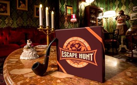 1 partie descape game d1h au choix, de 2 à 5 personnes, à 64,90 € au Escape Hunt Toulouse