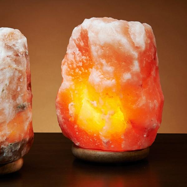 Up To 53 Off A Himalayan Natural Salt Lamp Groupon