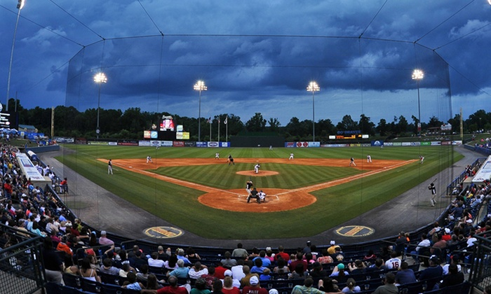The Rome Braves - State Mutual Stadium: Rome Braves Baseball Game at State Mutual Stadium (40% Off). 2 Seating Options and 22 Games Available.