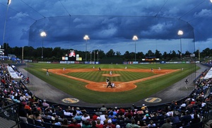 Rome Braves Baseball Game At State Mutual Stadium (40% Off). 2 Seating Options And 22 Games Available.