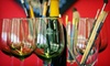 Artist Uncork'd - Multiple Locations: Painting Class for One, Two, or Four at Artists Uncork'd (Up to 54% Off)