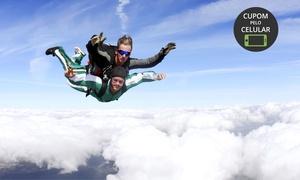 Vertical Speed Paraquedismo: Vertical Speed Paraquedismo – Santa Lúcia: salto duplo para 1 ou 2 pessoas – parcele sem juros