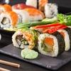 Menú de sushi con 40 u 80 piezas