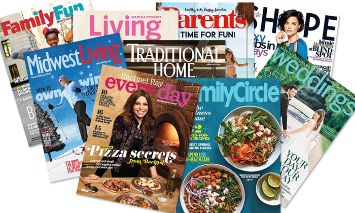 Assorted Magazine Subscriptions