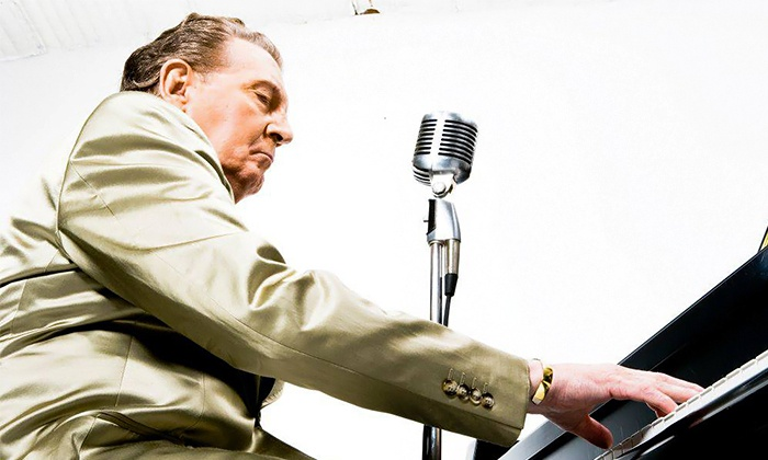 Jerry Lee Lewis and Chubby Checker - NYCB Theatre at Westbury: Jerry Lee Lewis and Chubby Checker at NYCB Theatre at Westbury on Friday, April 10 (Up to 40% Off)