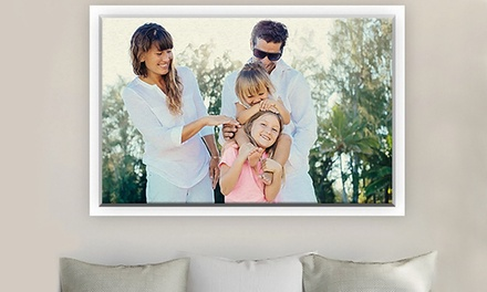 Custom Floating Frame Canvases from CanvasOnSale