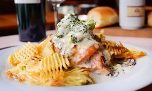 Alcorta Carnes & Vinos: Desde $399 por cena o almuerzo mediterráneo para dos, cuatro o seis en Alcorta Carnes & Vinos