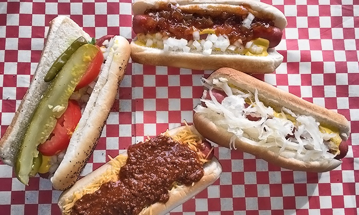 Duff's Doggz - Carmel Mountain: Two or Three Groupons, Each Good for $10 Worth of Hot Dogs at Duff's Doggz (40% Off)
