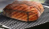 Sorbus Non-Stick Porcelain Coated Steel Rib Roasting Stand