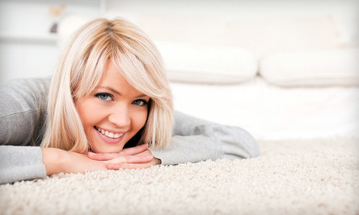 Peace Frog Carpet & Tile Cleaning - Austin: Tile Cleaning, or Carpet Cleaning for Three or Four Rooms from Peace Frog Carpet & Tile Cleaning (Up to 52% Off)