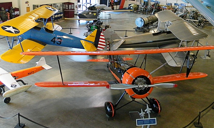 Aerospace Museum of California - North Highlands: Aerospace Museum of California Outing for  Family of Four with Simulator Ride   (50% Off)