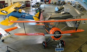 Aerospace Museum of California: Aerospace Museum of California Visit for Two or Four or a Family Membership (Up to 46% Off)