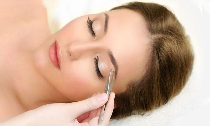 Nina gallery - Nina Gallery Hair Salon: Eyebrow Shaping with Optional Tinting at Nina gallery (50% Off)