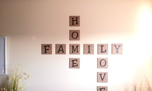 Say It With Style: $14 for $25 Worth of Wall Decor — Say It With Style