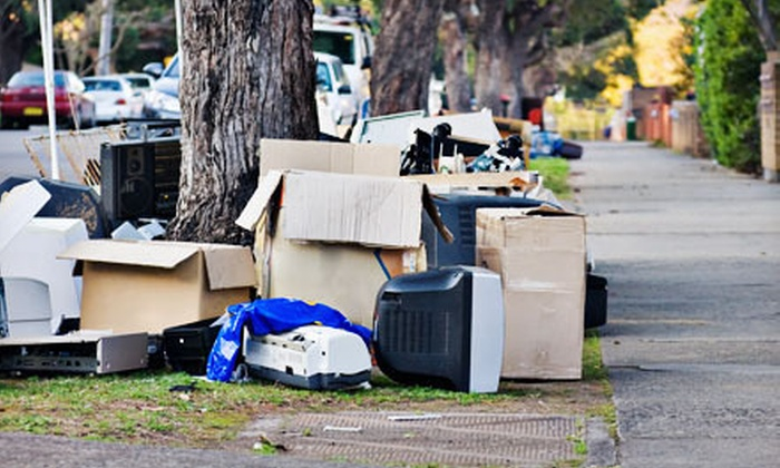 Crew Clean-up & Removal - Indianapolis: Junk Removal for Two, Four, or Eight Cubic Yards from Crew Clean-Up & Removal (Up to 61% Off)