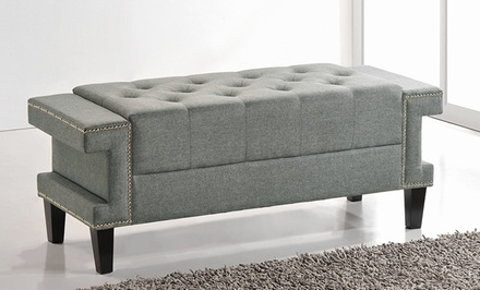 Madeline Tufted End-of-Bed Benches
