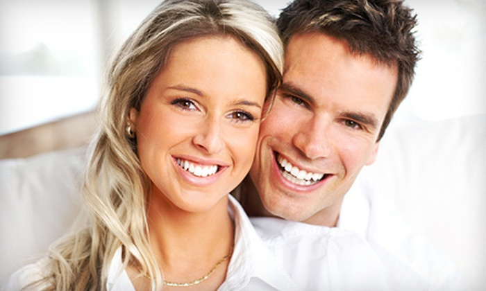 Million Dollar Smile - Far West Side: $78 for an In-Office Teeth Whitening and Take-Home Maintenance Pen at Million Dollar Smile ($308 Value)