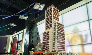Celebricktion: Admission for 2 or more to CELEBRICKTION 2015 - A Lego Fan Expo (Up to 55% Off)