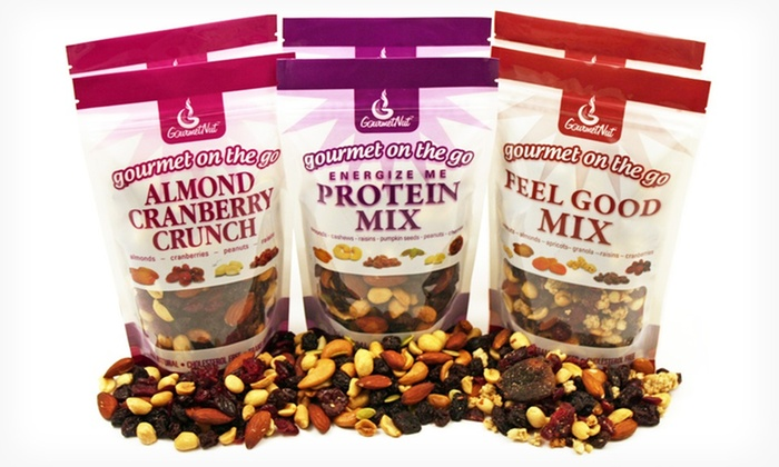 Gourmet Nut Health Mix 6-Pack: $24.99 for a Gourmet Nut Health Mix 6-Pack ($37.68 List Price). Free Shipping.