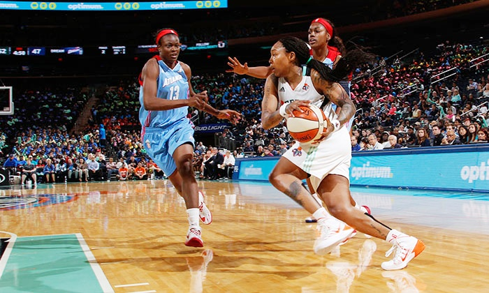 New York Liberty - Madison Square Garden: New York Liberty WNBA Game at Madison Square Garden on July 29 or August 8 (Up to 61% Off). Multiple Seating Options.