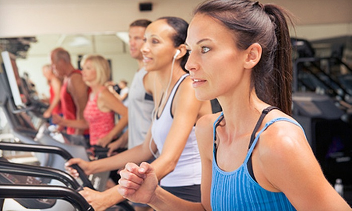 Anytime Fitness - Perry: One-Month Gym Membership with Tanning or Three-Month Membership with Optional Tanning at Anytime Fitness (Up to 81% Off)