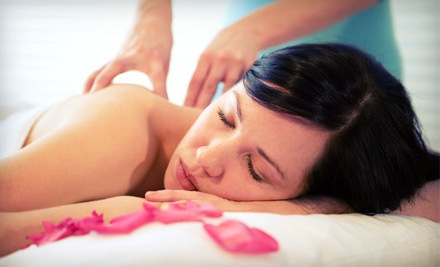 Classic Manicure and a Spa Pedicure (a $71 value) - Solaire Hair Studio and Spa in Hudson