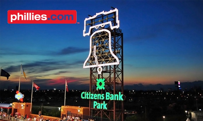Philadelphia Phillies - Citizens Bank Park: Philadelphia Phillies Game at Citizens Bank Park on May 8, 13, or 16 (Half Off). Various Seating Options.