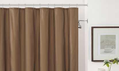 Image Placeholder Image For Magnetic PEVA Shower Liner