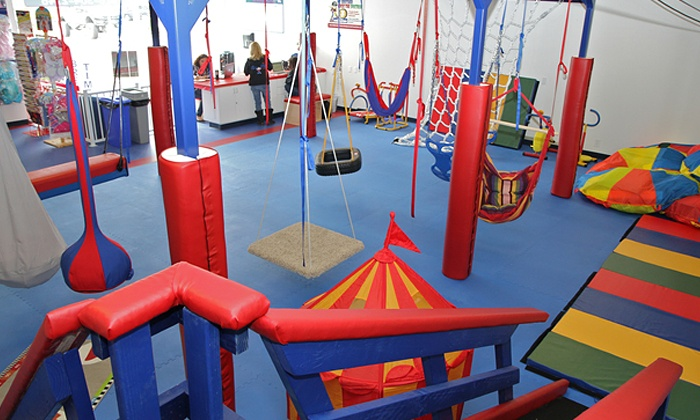 We Rock the Spectrum Kid's Gym - Cypress: Three or Five Open-Play Sessions or a Month of Open-Play Sessions at We Rock the Spectrum Kid's Gym (Up to 49% Off)