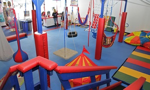 We Rock the Spectrum Kid's Gym: 1, 2, or 5 Open-Play Sessions or a Month of Open-Play Sessions at We Rock the Spectrum Kid's Gym (Up to 60% Off)
