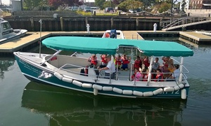 Whaling City Expeditions: Harbor Tour for Two or Four from Whaling City Expeditions (50% Off)