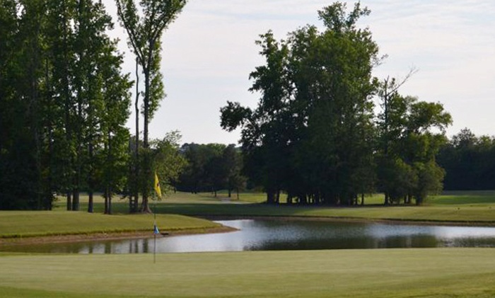The Hooch Golf Club - The Hooch Golf Club: 18 Holes of Executive Golf and a Cart for One, Two, Three, or Four at The Hooch Golf Club (Up to 59% Off)