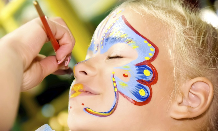 Face8 Face Painting - Raleigh / Durham: Up to 50% Off face painting at Face8 Face Painting
