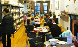 Up to 50% Off Pottery Paining Experience at The Clayroom at The Clayroom, plus 6.0% Cash Back from Ebates.