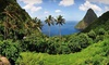 blu St. Lucia - Reduit Beach, St. Lucia: All-Inclusive Stay with all Meals, Premium Drinks, and Snacks at blu St Lucia