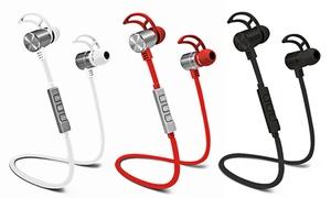 Pom Gear Pro2go Wireless Bluetooth 4.1 Nfc Noise-canceling Earbuds