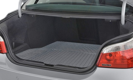 Semi-Custom Trimmable Vinyl Trunk Liner Cargo Mat