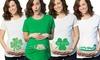 St. Patrick's Day Maternity T-Shirt