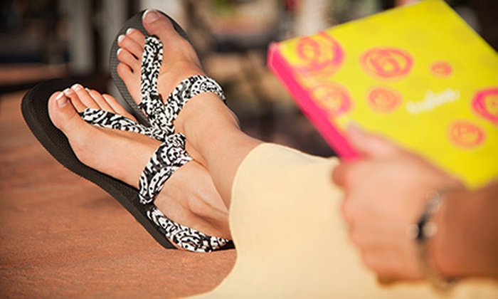 Sadie Jane Boutique - Scottsdale Ranch: $15 for $30 Worth of Customizable Sandals at Sadie Jane Boutique
