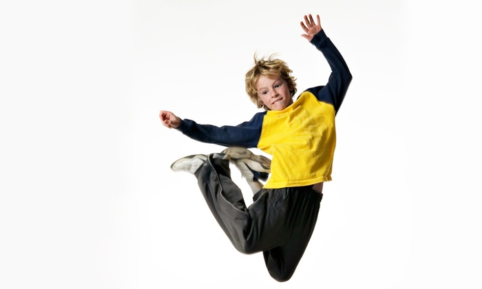 Sky High Sports - Orange County: Two Hours of Trampoline Jump Time Monday–Thursday or Friday–Sunday at Sky High Sports (Up to32% Off)