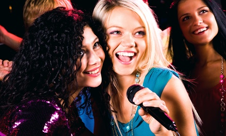 Karaoke with Drinks and Appetizers for Two, Four or Six at Chorus Karaoke San Diego (Up to 50% Off). Six Options.