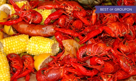 Seafood for Tables of Two or More or Four or More at Chason's Crab Stadium (Up to 43% Off)