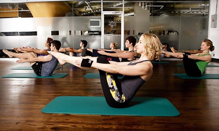 Crunch - Multiple Locations: One- or Three-Month Gym Membership with Unlimited Group Classes and Personal Training at Crunch (Up to 72% Off).