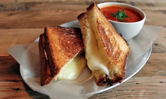 Cheesemelt Cafe - Multiple Locations: Sandwiches and Soups at Cheesemelt Cafe (50% Off). Three Options Available.