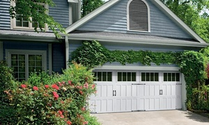 Sears Garage Doors: Garage Door Tune-Up and Inspection with Optional Set of Whisper Rollers from Sears Garage Doors (Up to 71% Off)