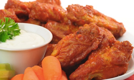 Chicken Wings All-you-can-eat mit Pommes/Wedges satt für Zwei oder Vier im The Irish Pub ab 13,90 € (bis zu 53% sparen*)